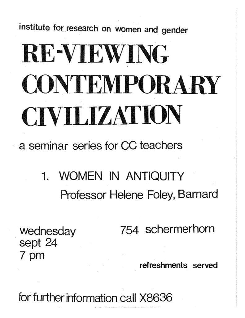 1987-1990 Reviewing Contemporary Civilization