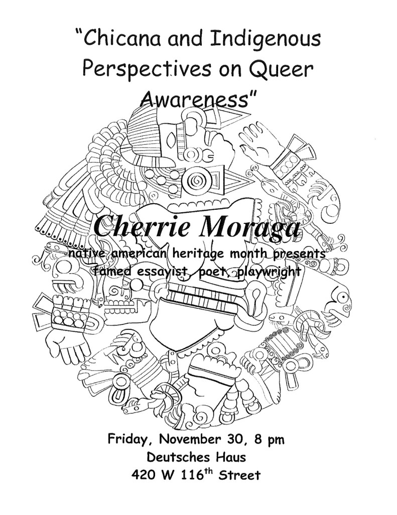 2001-2002 Chicana and Indigenous Perspectives on Queer Awareness Moraga