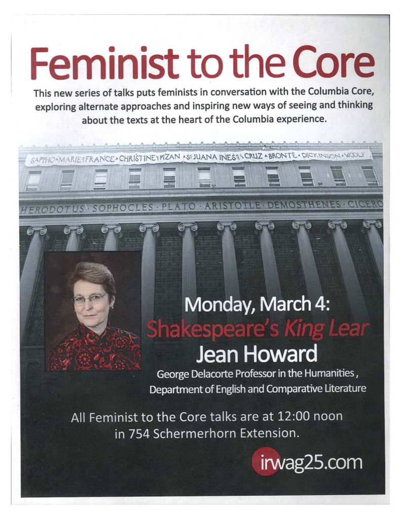 2012-2013 Feminist to the Core Howard
